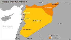 Kurdish area of Syria