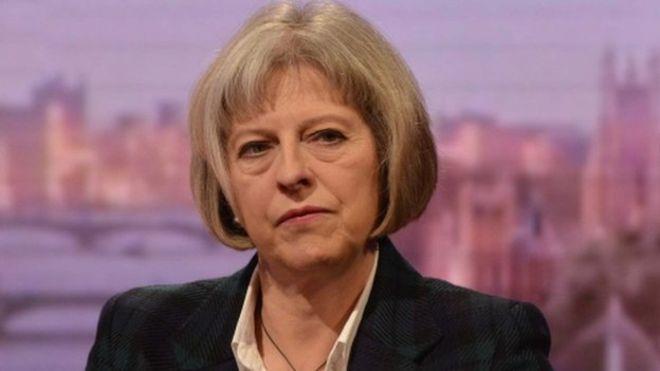 Theresa May 8