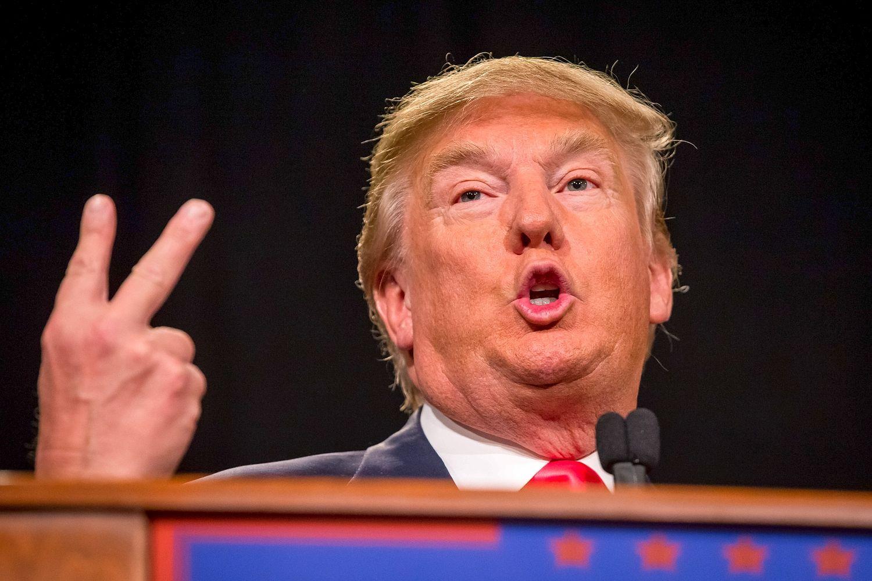 Donald Trump Vsign